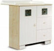 Azura Home Design - Table à langer avec commode
