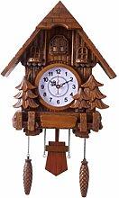 B Blesiya Horloge Murale Moderne Artisanat Bois