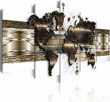 B&D XXL murando Tableau Acoustique Carte du Monde