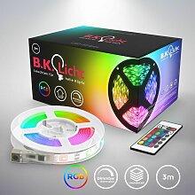 B.k.licht - Bande LED 3m silicone RVB