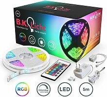 B.k.licht - Bande LED 5m stripe RGB éclairage