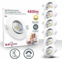 B.k.licht - Lot de 6 spots à encastrer LED spots
