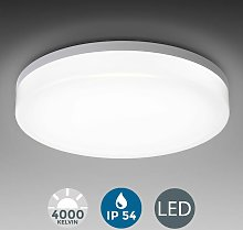 B.k.licht - Plafonnier LED 18W éclairage plafond