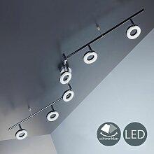 B.k.licht - Plafonnier LED design lustre plafond