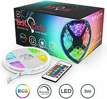 B.k.licht - Ruban LED 5m, guirlande lumineuse
