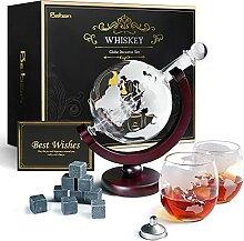 Baban Whisky Decanter, Carafe en Verre, Hommes