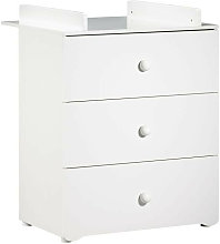 BABY PRICE New Basic Commode a langer 3 tiroirs -