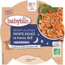 Babybio Bonne Nuit Assiette Marmite Patate Douce
