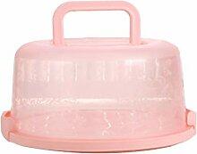 Babysbreath17 Ronde en Plastique Boîte gâteau