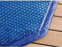 Bâche à bulles pour piscine bois