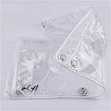 Bâche transparente en PVC souple, tissu
