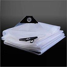 Bâche transparente en tissu imperméable pour