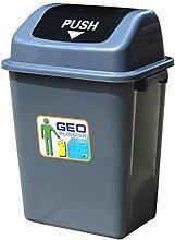 Bacs à ordures extérieurs Poubelle en plastique