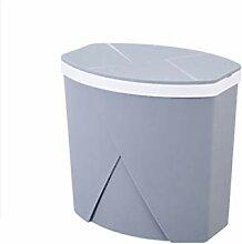 Bacs à ordures Poubelle avec couvercle Outil de