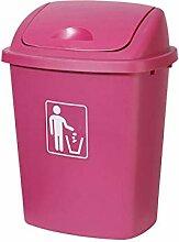Bacs à ordures Poubelle en plastique grande