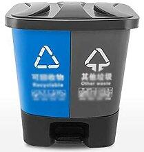 Bacs de recyclage des ménages, type de pédale