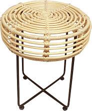 Badung - Tabouret design en rotin