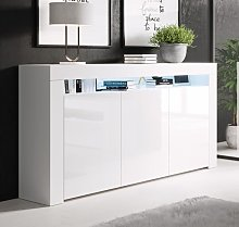 Bahut modèle Aker couleur blanc
