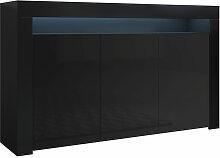 Bahut modèle Aker couleur noir