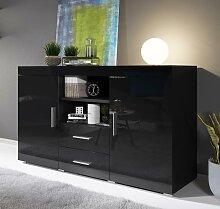 Bahut modèle Roque couleur noir