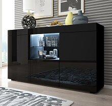 Bahut modèle Sefora couleur noir