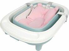 Baignoire bébé pliable avec coussin suspension -
