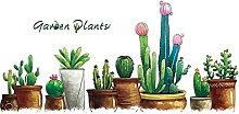 Bailingniao Jardin Plante Stickers Muraux DIY