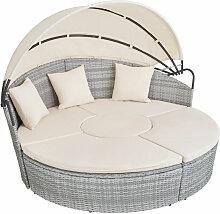Bain de soleil rond modulable SANTORIN - chaise