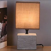 Bakaji Lampe de table base rectangulaire en