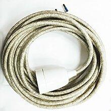 Baladeuse Câble électrique textile (fil