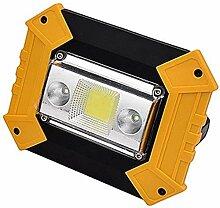 縦断勾配 Baladeuse Projecteur 10W LED Lampes