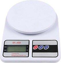 Balance alimentaire numérique de cuisine, 10kg,