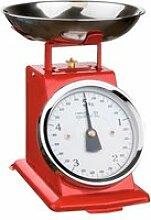 Balance de cuisine mécanique rouge 306163