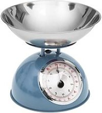 Balance de cuisine rétro bleu 5kg