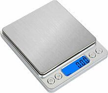 Balance electronique de cuisine, 0.1g/3kg Anglais