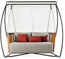 Balancelle Swing / L 205 x H 193 cm - Ethimo gris