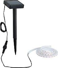 Balise Strip LED Solaire - Lampe Solaire Exterieur