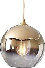 Ball-forme d'abat-jour design rond pendentif,