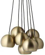 BALL MULTI-Suspension 7 lumières Métal Ø60cm