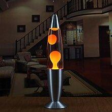 Ballylelly Lampe de lave à base de métal mignon
