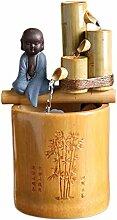 Bambou Bureau Fontaine d'eau Bouddha Petit
