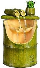 Bambou Fontaine Décor Bambou Fontaine Eau Résine