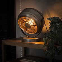 Bame Lampe De Chevet Industrielle Métal