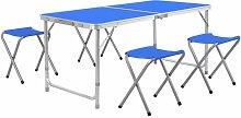 BAMNY table de camping table pliante table de