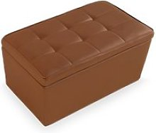Banc coffre manille taupe