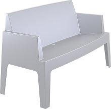 Banc de jardin 'PLEMO XL' gris clair en