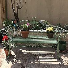 Banc De Jardin en Métal Créatif Siège Chaise De