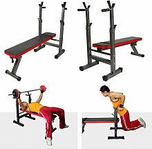 ®Banc de Musculation Abdominaux Pliable 111 x
