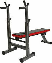 Banc de Musculation Abdominaux Pliable 125 cm x