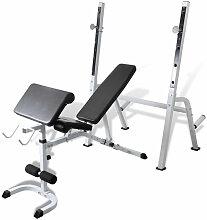Banc de musculation appareil sport fitness